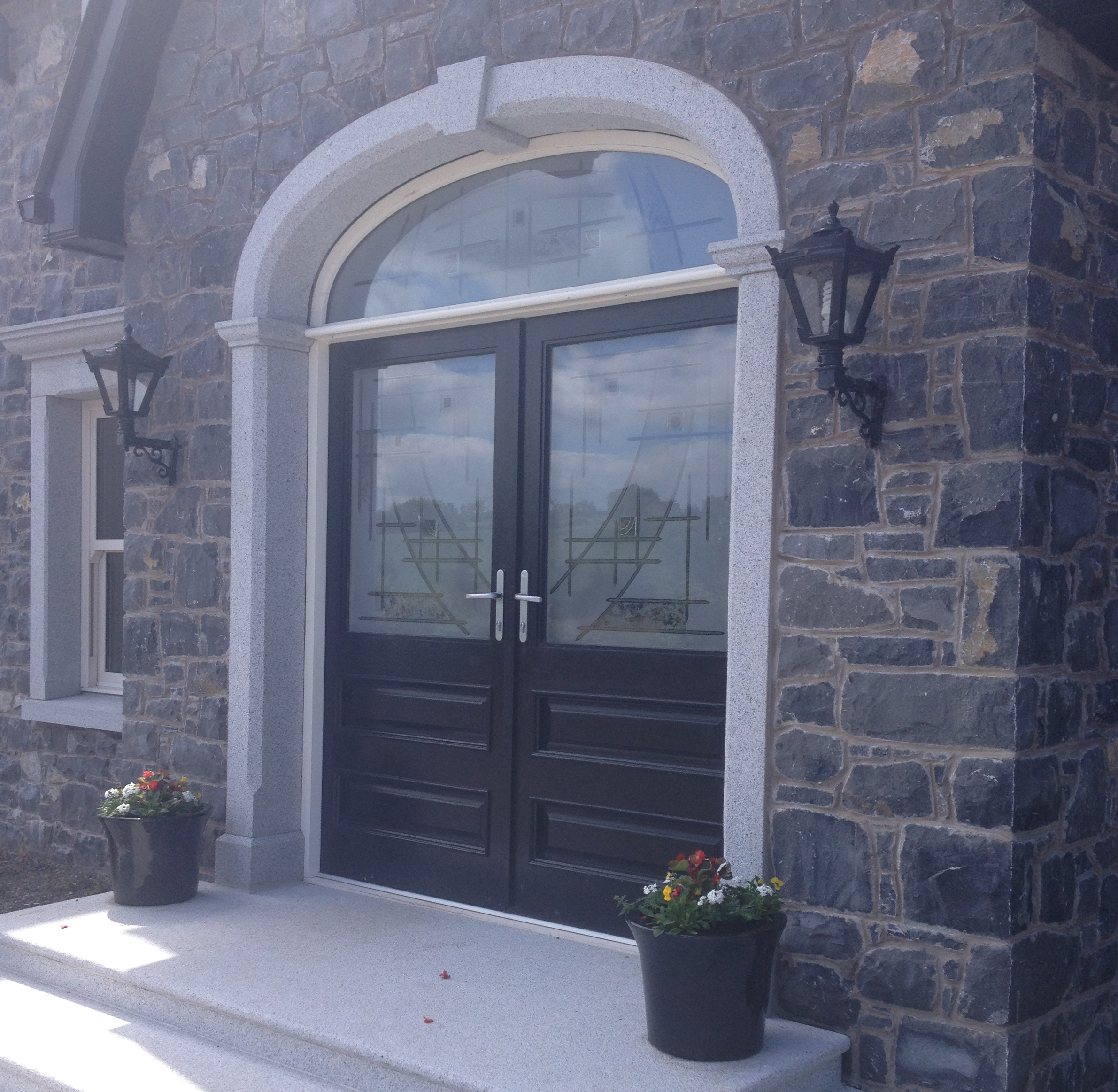 Mesmerizing Front Door Surround Stone Images - Image design house ...